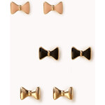 FOREVER21 Bow Stud Set