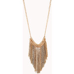 FOREVER21 Cool Girl Fringe Necklace