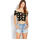 FOREVER21 Denim Darling Ripped Shorts