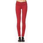 FOREVER21 Everyday Twill Skinny Pants