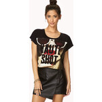 FOREVER21 Haute Shot Cropped Tee
