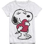 FOREVER21 girls Fancy Snoopy Tee (Kids)