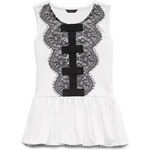 FOREVER21 girls Classic Lace Top (Kids)