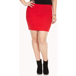 FOREVER21 PLUS Must-Have Bandage Skirt