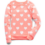 FOREVER21 girls Darling Hearts Sweatshirt (Kids)