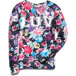 FOREVER21 girls Floral Luv Sweatshirt (Kids)