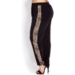 FOREVER21 PLUS Run Wild Woven Trousers
