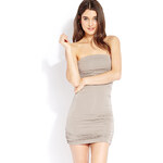 FOREVER21 Must-Have Ruched Tube Dress