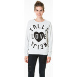 "Tally Weijl White ""Tally"" Printed Sweater"