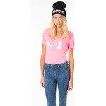 "Tally Weijl Pink ""N°. Tally"" Printed Top"