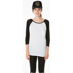 Tally Weijl Black & White Raglan Top