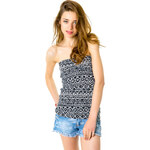 Tally Weijl Monochrome Aztec Bandeau Top
