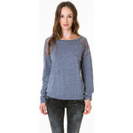Tally Weijl Blue Lace Panels Top