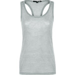 Tally Weijl Grey Neppy Vest Top