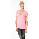 Tally Weijl Baby Pink Basic Roll-Up Sleeve Top