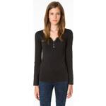 Tally Weijl Black Long Sleeve Shirt