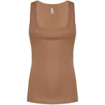 Tally Weijl Brown Basic Vest Top