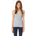 Tally Weijl Grey Basic Vest Top