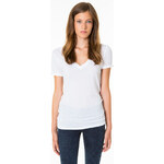 Tally Weijl White Basic Roll-Up Sleeve Top