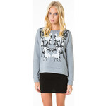 Tally Weijl Grey Printed Sweat