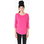 Tally Weijl Pink Rolled Sleeves Sweater