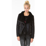 Tally Weijl Black Borg Biker Jacket