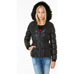 Tally Weijl Black Shiny Padded Jacket