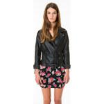 Tally Weijl Black Leather Like Biker Jacket