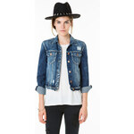 Tally Weijl Medium Wash Denim Jacket