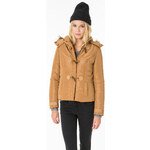 Tally Weijl Faux Fur Trim Hooded Jacket