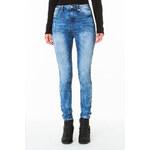 Tally Weijl Light Wash High-Waist Skinny Jeans