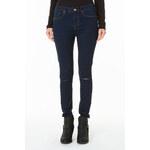Tally Weijl Dark Wash Knee Slit Skinny Jeans