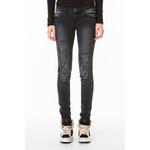 Tally Weijl Black Destroyed Skinny Jeans
