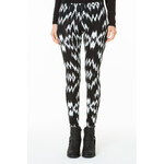 Tally Weijl Monochrome Abstract Printed Leggings