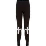 Tally Weijl Black Cross Print Leggings