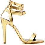 Carvela Gabriel Gold Barely There Heeled Sandals