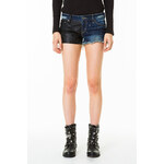 Tally Weijl Leather Like Patchwork Shorts