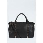 Tally Weijl Black Embellished Bowler Bag