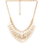 FOREVER21 Femme Faux Pearl Necklace