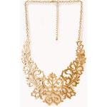 FOREVER21 Regal Damask Bib Necklace
