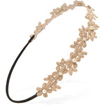 FOREVER21 Crocheted Flower Headband