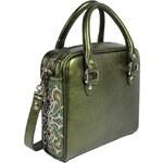 GOSHICO - Kožená vyšívaná kabelka Fancy II - 1265