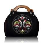 GOSHICO - Plstěná vyšívaná kufříková kabelka NEW FOLK - 39-12716