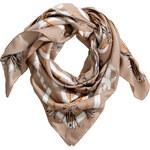 H&M Patterned satin scarf