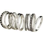 H&M 10-pack rings