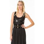 Tally Weijl Black Sequin Embellished Tank Top