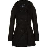 Tally Weijl Black Button & Hooded Coat