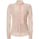 RED Valentino Organza Star Blouse