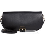 Burberry Shoes & Accessories Small Leather Carson Flap Bag