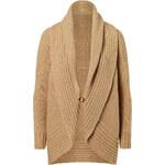 Ralph Lauren Black Label Wool-Cashmere Shawl Collar Cardigan